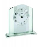 Tischuhr - AMS 1120 - Quarz, Glas/Metall
