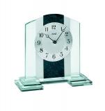 Tischuhr - AMS 1121 - Quarz, Glas/Metall