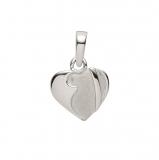 Anhänger - Gerry Eder 21.1143S - 925 Sterling Silber, ohne Stein, Herz