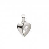Anhänger - Gerry Eder 21.1182S - 925 Sterling Silber, Zirkonia, Herz