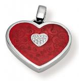 Anhänger - Gerry Eder 21.9034R - 925 Sterling Silber, Zirkonia, Herz