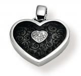 Anhänger - Gerry Eder 21.9035S - 925 Sterling Silber, Zirkonia, Herz