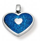Anhänger - Gerry Eder 21.9037B - 925/- Silber, ohne Stein, Herz