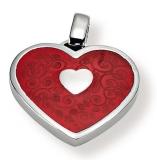 Anhänger - Gerry Eder 21.9037R - 925/- Silber, ohne Stein, Herz