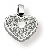 Anhänger - Gerry Eder 21.9039 - 925/- Silber, ohne Stein, Herz