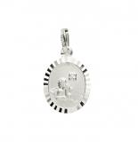 Anhänger - Gerry Eder 22.203 - 925 Sterling Silber, ohne Stein, Schutzengel