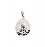 Anhänger - Gerry Eder 22.220 - 925 Sterling Silber, ohne Stein, Schutzengel