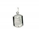 Anhänger - Gerry Eder 22.226 - 925 Sterling Silber, ohne Stein, Schutzengel