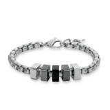 Armkette/Erbs - s.Oliver 508681 - Edelstahl Bicolor, ohne Stein