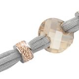 Armband - BOCCADAMO TSBR05 - Lamé/Bronze, Swarovski