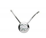 Kette mit Anhänger - Gerry Eder 21.2326 - 925 Sterling Silber, Venezia