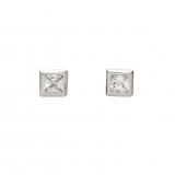 Ohrstecker - Gerry Eder 01.1100W - 925 Sterling Silber, Silber