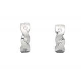 Creolen - Gerry Eder 05.2040 - 925 Sterling Silber, Silber