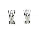 Creolen - Gerry Eder 05.2047 - 925 Sterling Silber, Silber