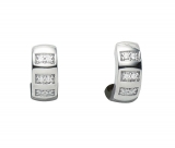 Creolen - Gerry Eder 05.2098 - 925 Sterling Silber, Silber