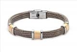 Armband - BOCCADAMO ABR136 - Leder, ohne Stein