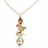 Collier - BOCCADAMO GR491D - 925 Silber vergoldet, Anker
