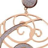 Kette mit Anhänger - BOCCADAMO XGR091RS - Bronze Rosé vergoldet, ohne Stein
