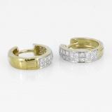 Creolen -  - 585/- Gold, Gelbgold