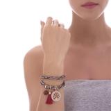 Armband - BOCCADAMO JCBR03 - Stoff, Swarovski Perle
