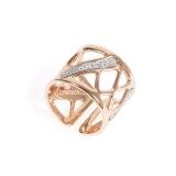 Damenring - BOCCADAMO XAN019RS - Bronze vergoldet, ohne Stein