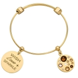 Bangle - Nikki Lissoni B1143G17 - vergoldet, Bangle
