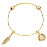 Bangle - Nikki Lissoni B1111G19 - vergoldet, Bangle