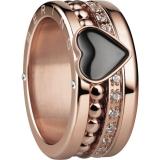 Damenring - BERING 520-30-X4_552-36-X1_556-37-X1 - Edelstahl Rosé vergoldet, Zir