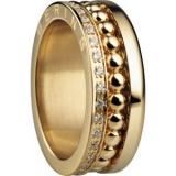 Damenring - BERING 599-3222-X3_552-20-X1 - Edelstahl IP Gold, Zirkonia