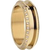 Damenring - BERING 526-27-X3 - Edelstahl Gelb vergoldet, Zirkonia