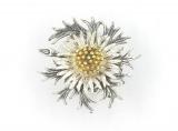 Broschen - 835/- Silber, ohne Stein