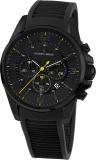 Herrenuhr - Jacques Lemans 1-1799E - Chronograph, Stahl IP Black