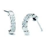 Ohrstecker - silver trends ST1436 - 925/- Silber rhodiniert