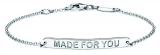 Identitäts-Armband/Anker - silver trends STG001 - 925 Silber rhodiniert