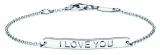 Identitäts-Armband/Anker rund - silver trends STG007 - 925 Silber rhodiniert