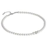Collier - BOCCADAMO GR637 - 925 Silber rhodiniert, Swarovski Perlen