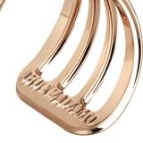 Damenring - BOCCADAMO XAN055RS - 925/- Silber Rosé vergoldet, Swarovski