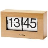 Tischuhr - AMS 1175-18 - Quarz, Holz