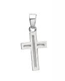 Anhänger - Gerry Eder 27.0032S - 925/- Silber, ohne Stein, Kreuz