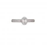 Damenring - Gerry Eder 53.2352 - 925 Sterling Silber, Zirkonia