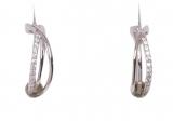 Creolen - Gerry Eder 05.2054.1 - 925 Sterling Silber, Silber