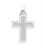 Anhänger - Gerry Eder 27.0013S - 925 Sterling Silber, ohne Stein, Kreuz