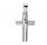 Anhänger - Gerry Eder 27.9104S - 925 Sterling Silber, ohne Stein, Kreuz