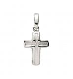 Anhänger - Gerry Eder 27.9132S - 925 Sterling Silber, ohne Stein, Kreuz