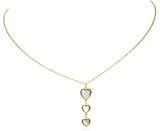 Collier - Gerry Eder 22.ES1042 - 925 Silber vergoldet, Perlmutt