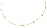 Collier - Gerry Eder 15.EG155 - 585/- Gold, Topas