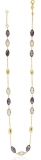Collier - Gerry Eder 15.EG156 - 585/- Gold, Amethyst