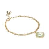 Armkette/Anker - BOCCADAMO XBR720D - 925 Silber vergoldet, Zirkonia