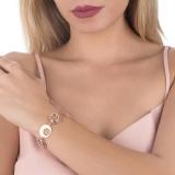 Armband - BOCCADAMO XBR701RS - 925 Silber vergoldet, Zirkonia