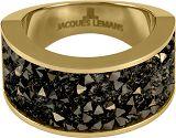 Damenring - Jacques Lemans S-R2035E56 - Edelstahl Gelb vergoldet, Swarovski
